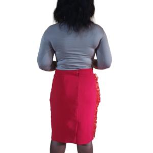 Dracaena Skirt Back