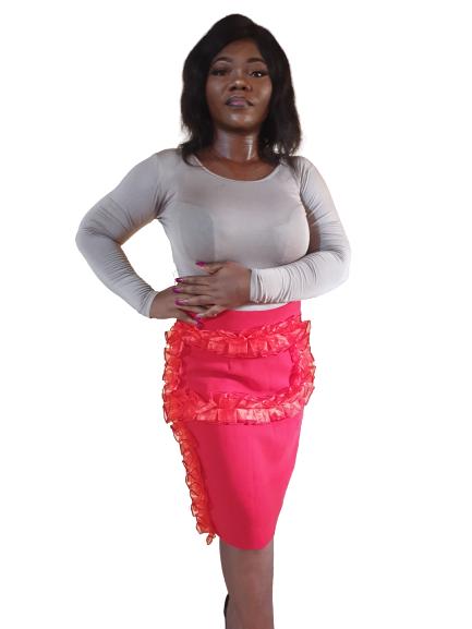 Dracaena Skirt Front